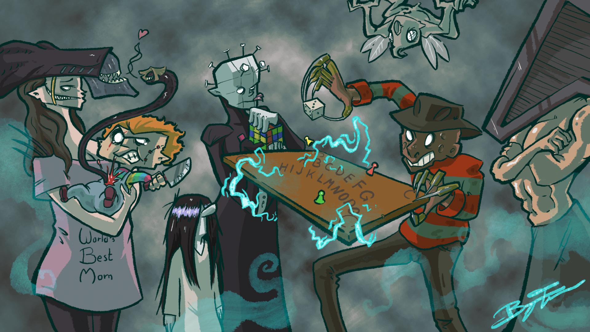 Spelkväll av Hat ep. 8: Halloween-edition